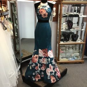 Blush 11137 size 0 in teal